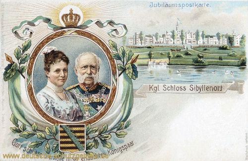 Sibyllenort, Königliches Schloss (König Albert von Sachsen)