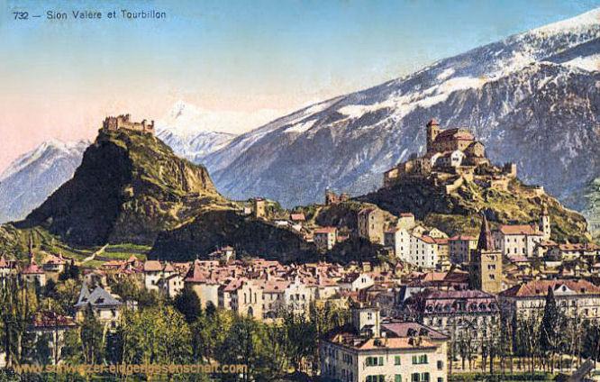 Sion, Valere et Tourbillon