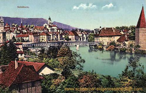 Solothurn, Stadtansicht
