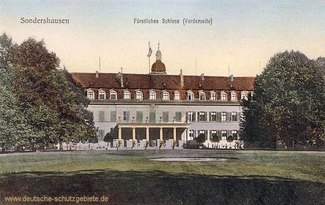 Sondershausen, Fürstliches Schloss (Vorderseite)