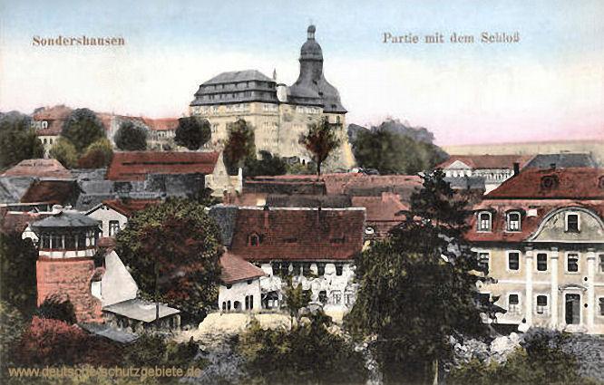 Sondershausen, Partie mit dem Schloss