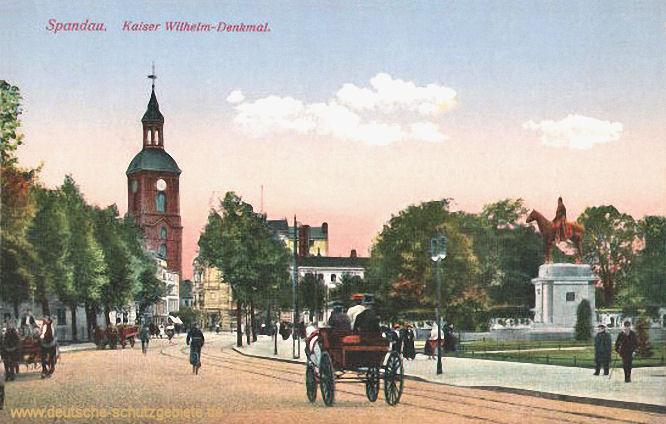 Spandau, Kaiser-Wilhelm-Denkmal