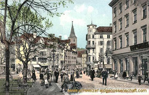 St. Gallen, Hechtplatz