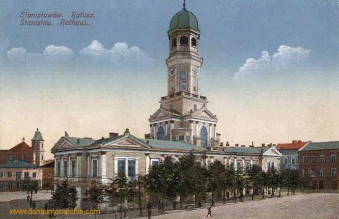 Stanislau, Rathaus