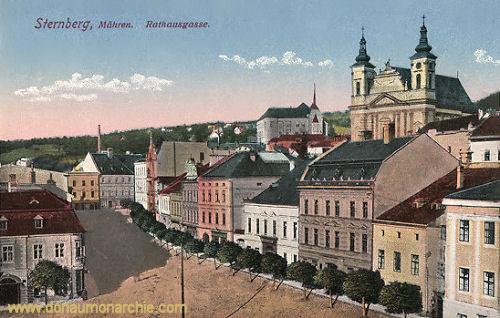 Sternberg in Mähren, Rathausgasse