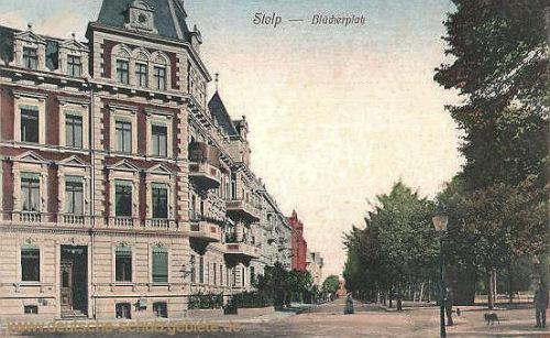 Stolp, Blücherplatz