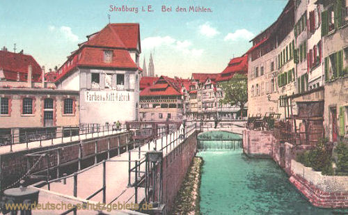 Straßburg i. E., Bei den Mühlen