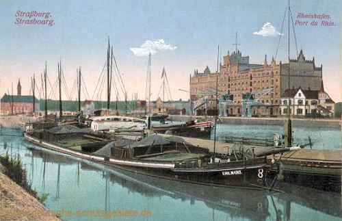 Straßburg i. E., Rheinhafen