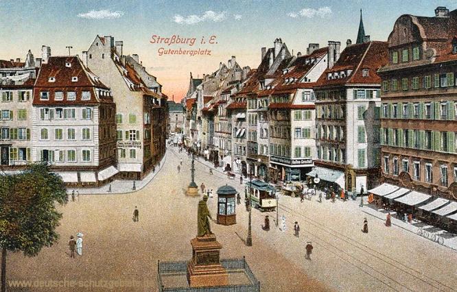 Straßburg i. E., Gutenbergplatz