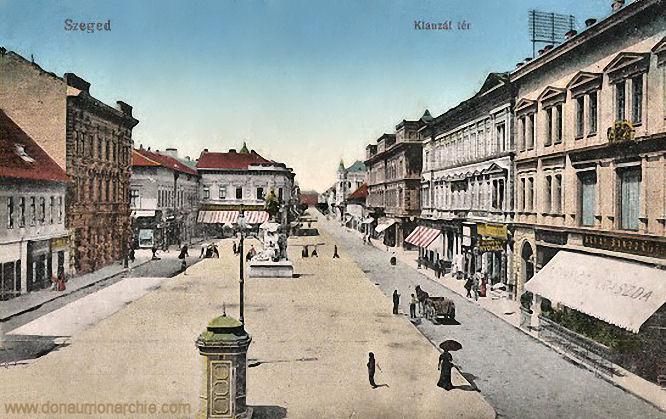 Szegedin (Szeged), Klauzál tér