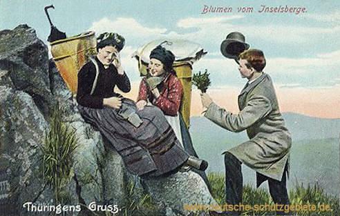 Thüringens Gruß, Blumen vom Inselsberg