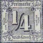 1/4 Silbergroschen, Thurn und Taxis mit Währung Taler