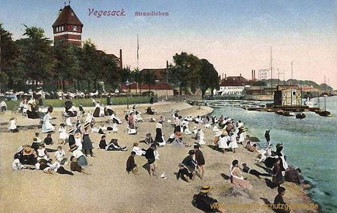 Vegesack, Strandleben