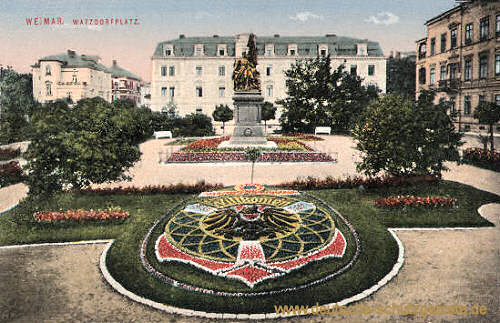 Weimar, Watzdorfplatz