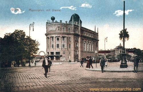 Wien I., Aspernplatz mit Urania