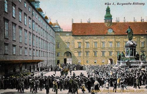 Wien I., Burgwache-Ablösung