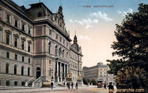 Wien, Justizpalast