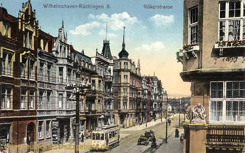 Wilhelmshaven, Gökerstraße