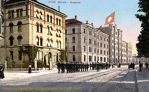 Zürich, Kaserne