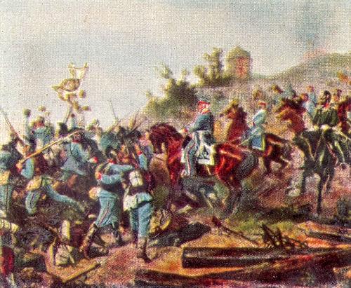 Ankunft der Bayern vor Paris, Januar 1871