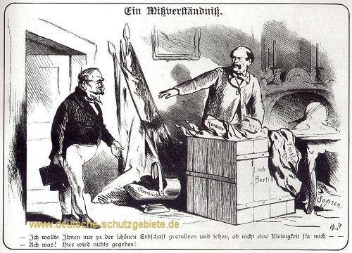 Bismarck und Napoleon III. 1866