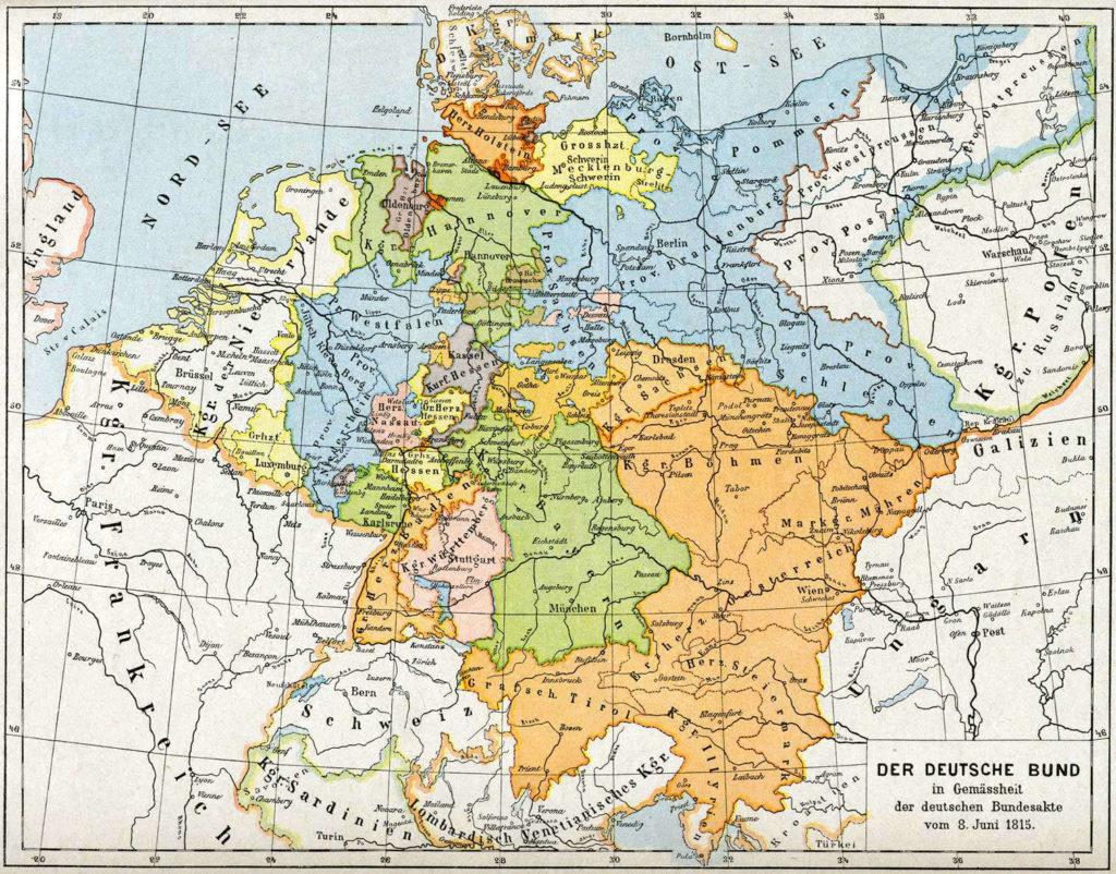 Deutscher Bund, 1815