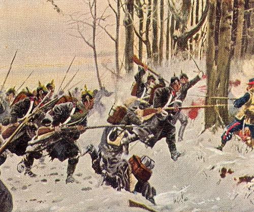 Die 64er bei Le Mans, 9. Januar 1871
