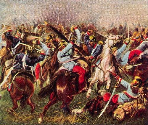 Episode aus dem Gefecht bei Nachod am 27. Juni 1866