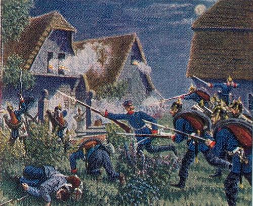 Nachtgefecht bei Podol am 26. Juni 1866