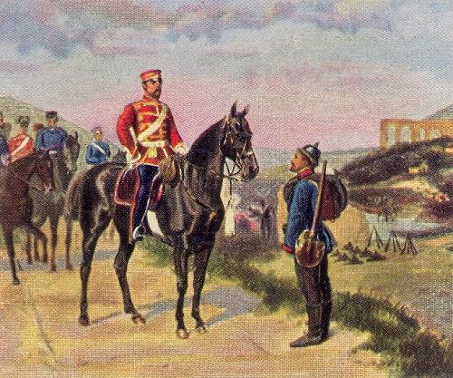 Prinz Friedrich Karl vor Metz, 27. Oktober 1870