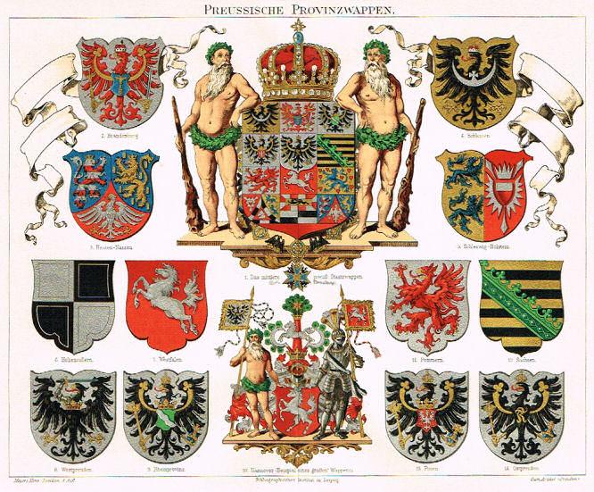 Preußische Provinzwappen