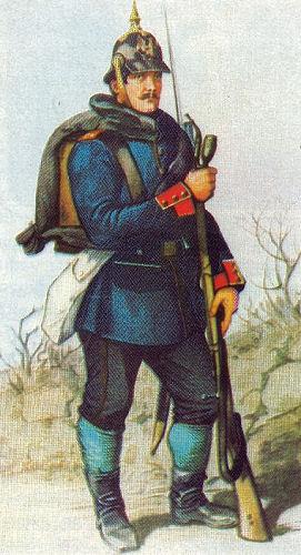 Preußischer Infanterist 1864