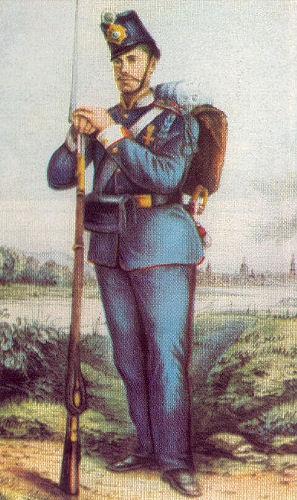 Sächsischer Leibgardist 1866