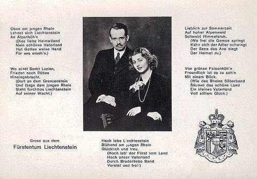Liechtensteinische Volkshymne, 1963