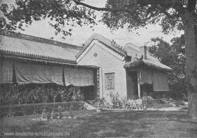 Peking deutsche Gesandtschaft, 1900