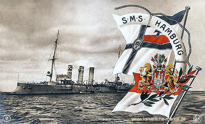 S.M.S. Hamburg, Kleiner Kreuzer
