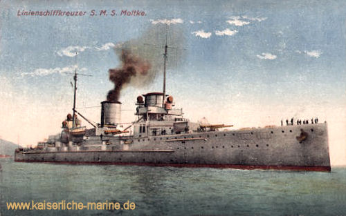 S.M.S. Moltke, Linienschiffkreuzer