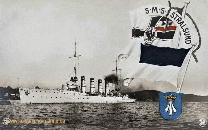 S.M.S. Stralsund, Kleiner Kreuzer