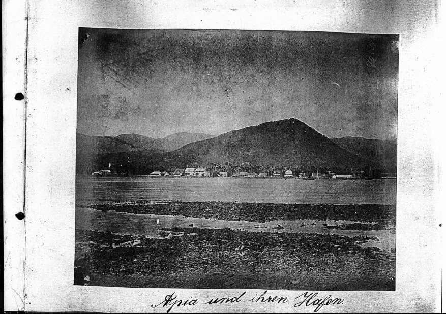 Apia und ihren Hafen