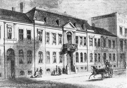 Berlin, Herrenhaus - seit 1867 Sitz des Norddeutschen Reichstages