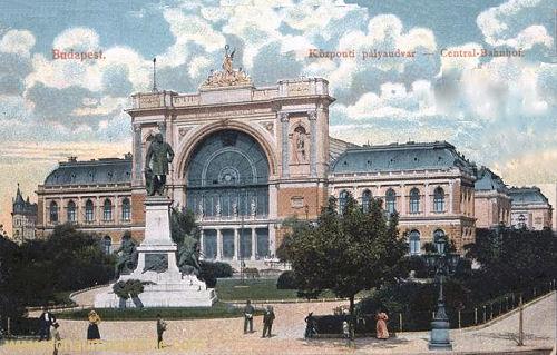 Budapest, Centralbahnhof