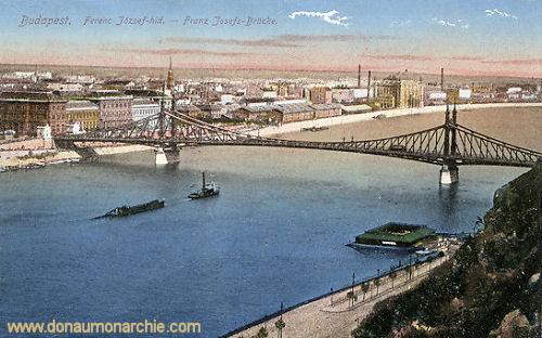 Budapest, Franz Josefs-Brücke