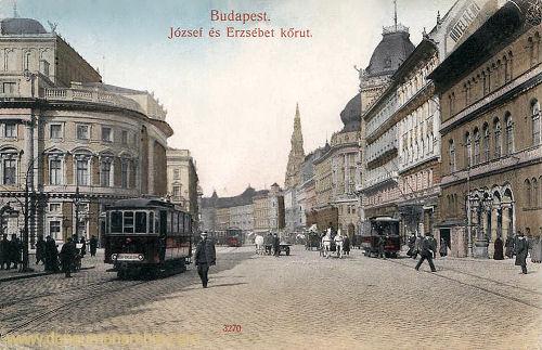 Budapest, József és Erzsébet körút