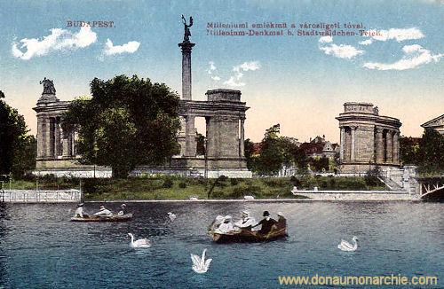 Budapest, Millenium-Denkmal