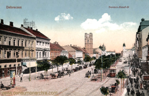 Debreczen, Ferencz József út