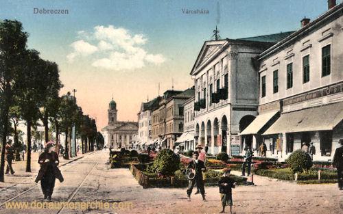 Debreczen, Városháza (Rathaus)