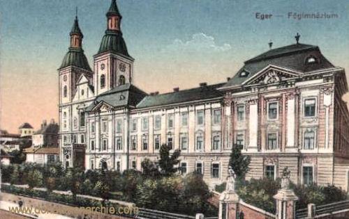 Erlau (Eger), Fögimnázium (Gymnasium)