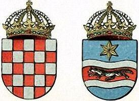 Königreich Kroatien und Slawonien, Wappen