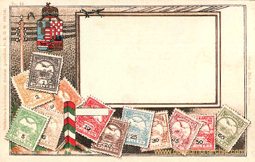 Königreich Ungarn, Briefmarken