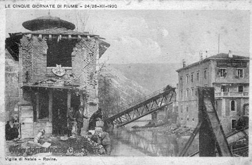 Le Cinque Giornate di Fiume - 24.-28.12.1920
